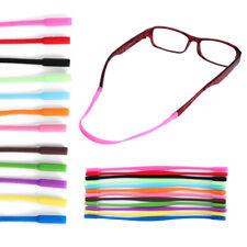 2 pcs Anti Slip Silicones Strap Glasses Sunglasses Chain Sports Band Cord Holder