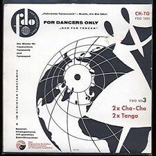 "7"" EP @ Viktor Reschke Big Band @ 2 x Cha Cha 2 x Tango"