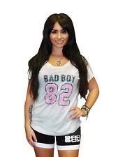 Bad Boy Ladies Varsity Dolman T shirt - Grey