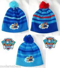 Paw Patrol cappello CUFFIA con Pompon bimbo bambino inverno tg52/54 originale