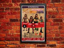 Diva Wrestling Poster - Wrestlemania 33 Women's Vintage Wrestling Poster