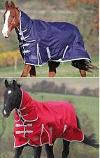 Shires Winter Highlander 200g Mediumweight Combination Fixed neck Turnout rug