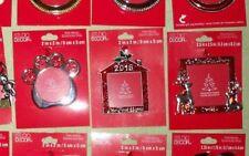 2016*Christmas Tree Ornament*Metal*Photo Frame*Studio Design*CHOOSE
