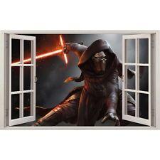 Adesivi finestra Darth Vader Guerre Stellari ref 11144