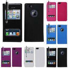 Accessoires Housse etui coque pochette plastique View Case Apple iPhone 5/ 5S
