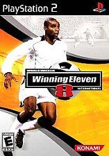 World Soccer Winning Eleven 8 International PlayStation 2 PS2 Complete CIB!