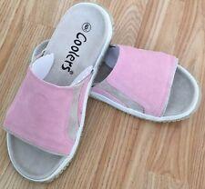 Buy1Get1HalfPrice LEATHER Women Slip on Mule Sandal Wedge Flip Flop Shoe Size