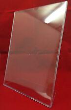 Clear Plastic Freestanding A4 TRU-VU Table Literature Poster Holder