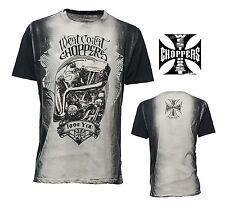 WEST COAST CHOPPERS Camiseta modelo F $$$ Usted Nuevo Tallas S-XXXL