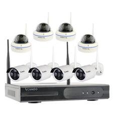 8CH sorveglianza wireless kit CCTV senza fili Sistema di telecamere giorno notte
