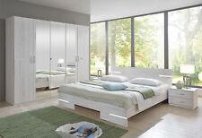Qmax 'Anya' Range German Made Bedroom Furniture. White Oak.