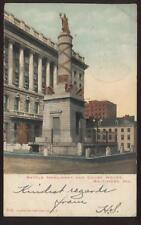 Postcard Railroad Postmark ARL & SO BAL RR 1906