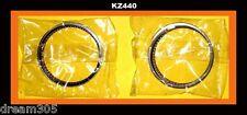 Kawasaki KZ440 Piston Rings Set x 2 STD size 1980 1981 1982 1983 440 Motorcycle!