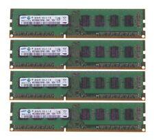 Lot for Samsung 2GB Kit 2Rx8 PC3-10600 DIMM RAM Desktop Memory CPU DDR3 1333Mhz