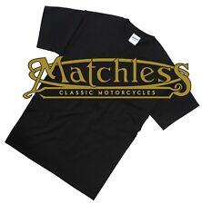 S-5XL Matchless Logo Biker T-Shirt Retro Classic Motorcycle Tee Shirt