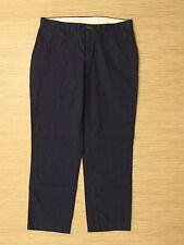 Polo Ralph Lauren Navy Blue Pants Men's Flat Front Zipper Fly Trousers Chinos
