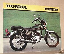 1980 Honda CM200 T TWINSTAR Motorcycle Sales Brochure - Literature