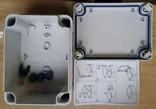 AUßEN PVC ANPASSBAR ANSCHLUSS DOSE PLASTIK GEHÄUSE IP55 WASSERFEST 150x100x80