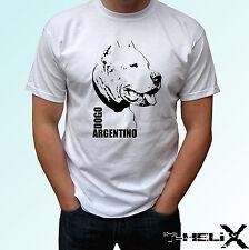 Dogo argentino b&w - chien t shirt top tee design-homme femme enfants bébé tailles