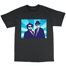Blues Brothers Inspired T-Shirt 100% Cotton Jake Elwood John Belushi R&B Soul
