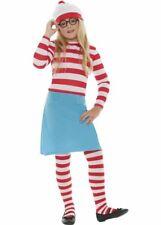 Girls Wheres Wally Wenda Costume