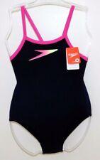 Speedo girls junior Boom Placement Thinstrap swimming costume 5 sizes BNWT