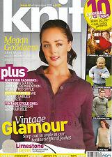 KNIT Magazine #40 MEGAN GOODACRE Knitting VINTAGE GLAMOUR Ewan McGregor @NEW@