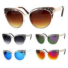 SA106 Art Nouveau Deco Horn Rim Cat Eye Womens Sunglasses