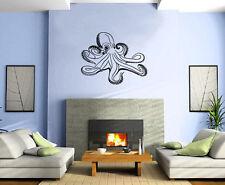 Octopus Ocean Marine Sea Decor Wall Mural Vinyl Art Decal Sticker M486