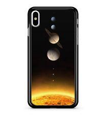 Sistema Solar cyber espacio astronómico Galaxy 2D Teléfono Estuche Cubierta de órbita galáctica