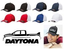 Dodge Ram Daytona Quadcab Pickup Truck Classic Color Outline Design Hat Cap