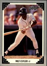 1991 Leaf Baseball Card Pick 251-500