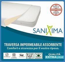 Traversa impermeabile lavabile ANTIACARO letto singolo soffice igienico mod.MAYA