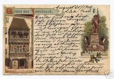 1900 Postcard Gruss Aus Innsbruck Austria