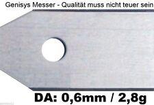30 Ersatzmesser 2,8g/0,6mm dick für Husqvarna Automower Gardena R40Li/R70Li