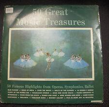 50 Great Music Treasures Vinyl LP