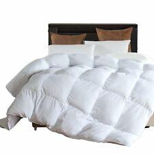 Twin Comforter Duvet Insert White - Hypoallergenic Plush Fiberfill, Lightweight