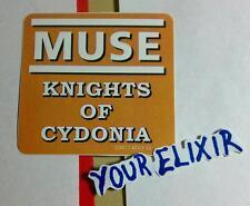 Muse Knights Of Cydonia Guitar Case Amp Board Rare Sticker