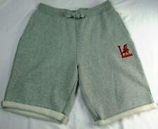 Louisville Cardinals Men's Large Gray Starter Soft Shorts NCAA