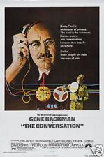 The conversation Gene Hackman cult movie poster print