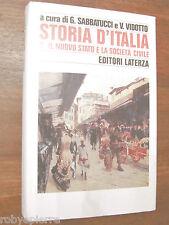Vendo Storia D'Italia Sabbatucci Vidotto Editori Laterza 1995 n vol 2 II OTTIMO