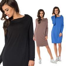 Kleid klassisch Mini-Kleid Langarmkleid Top Gr. 36 38 40 42 44 46