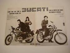 advertising Pubblicità 1976 DUCATI 350 GTL/125 ISDT
