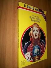 IL GIALLO MONDADORI-N. 2344-GEORGE BAXT-BUON ANNO,MARLENE-2 GENNAIO 1994