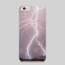 Lightning Strikes Storm Meteo Telefono Case Cover