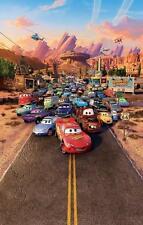 Cars Disney Película Póster Película A4 A3 Art Print Cine