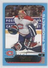 2001-02 Topps #276 Mathieu Garon Montreal Canadiens Hockey Card