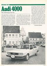 1979 Audi 4000 - Classic Article D44