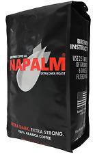 Napalm Coffee, EXTRA DARK ROAST, Bagged Coffee, 100% Arabica, 12 Ounce Bag