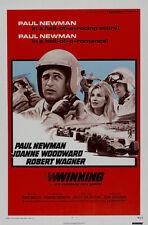 Winning Paul Newman Robert Wagner movie poster print 3